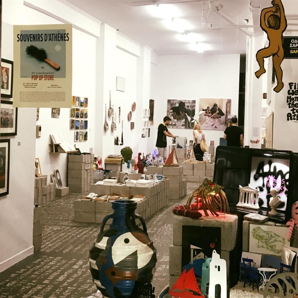 Souvenirs d' Athènes: A pop-up store - Image 7